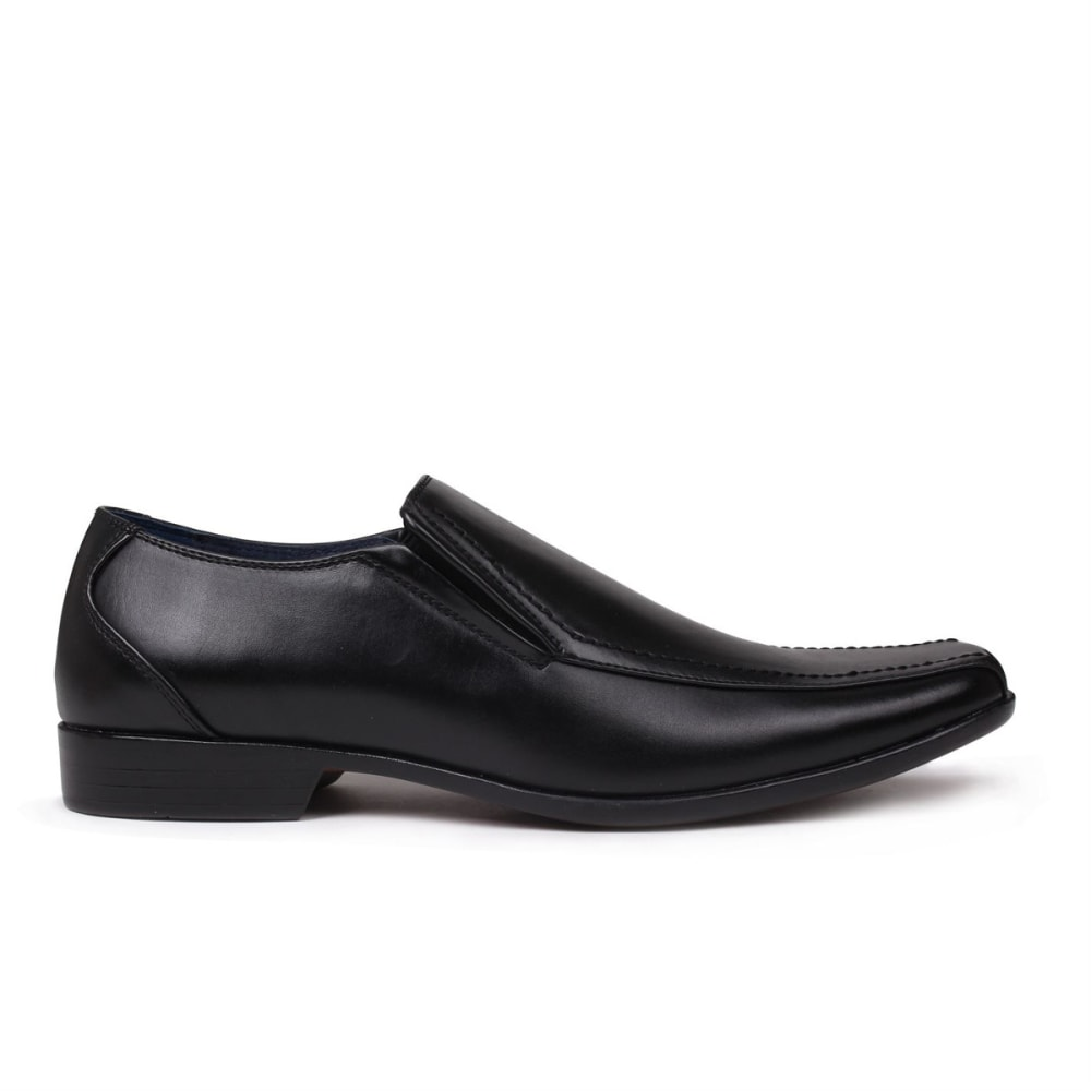 GIORGIO Men's Bourne Slip-On Dress Shoes - BLACK
