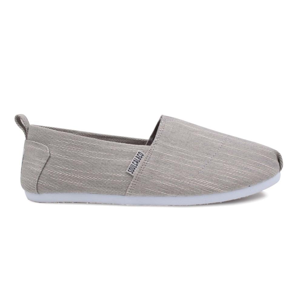 SOULCAL Men's Long Beach Slip-On Casual Shoes - GREY DENIM