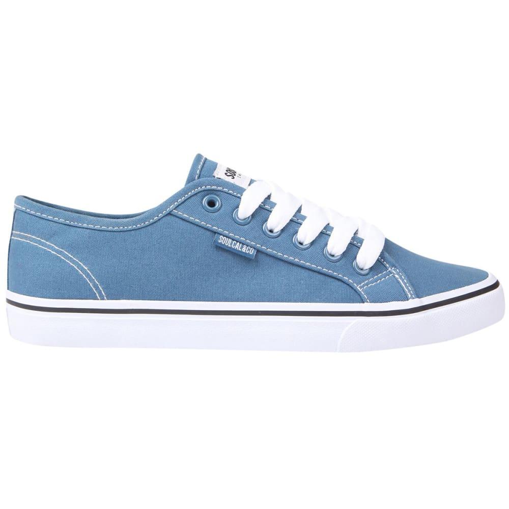 SOULCAL Men's Sunrise LC Canvas Sneakers - BLUE