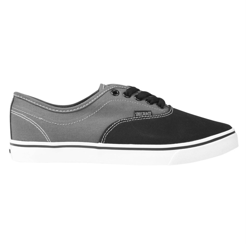 SOULCAL Men's Sunset Lace-Up Sneakers - BLACK/GREY