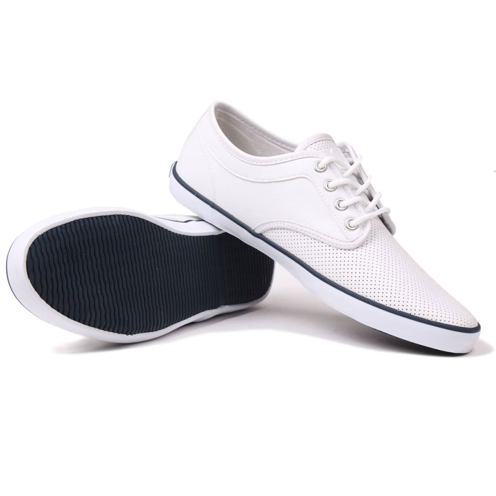 SOVIET Men's Bux Vamp Sneakers - WHITE/NAVY
