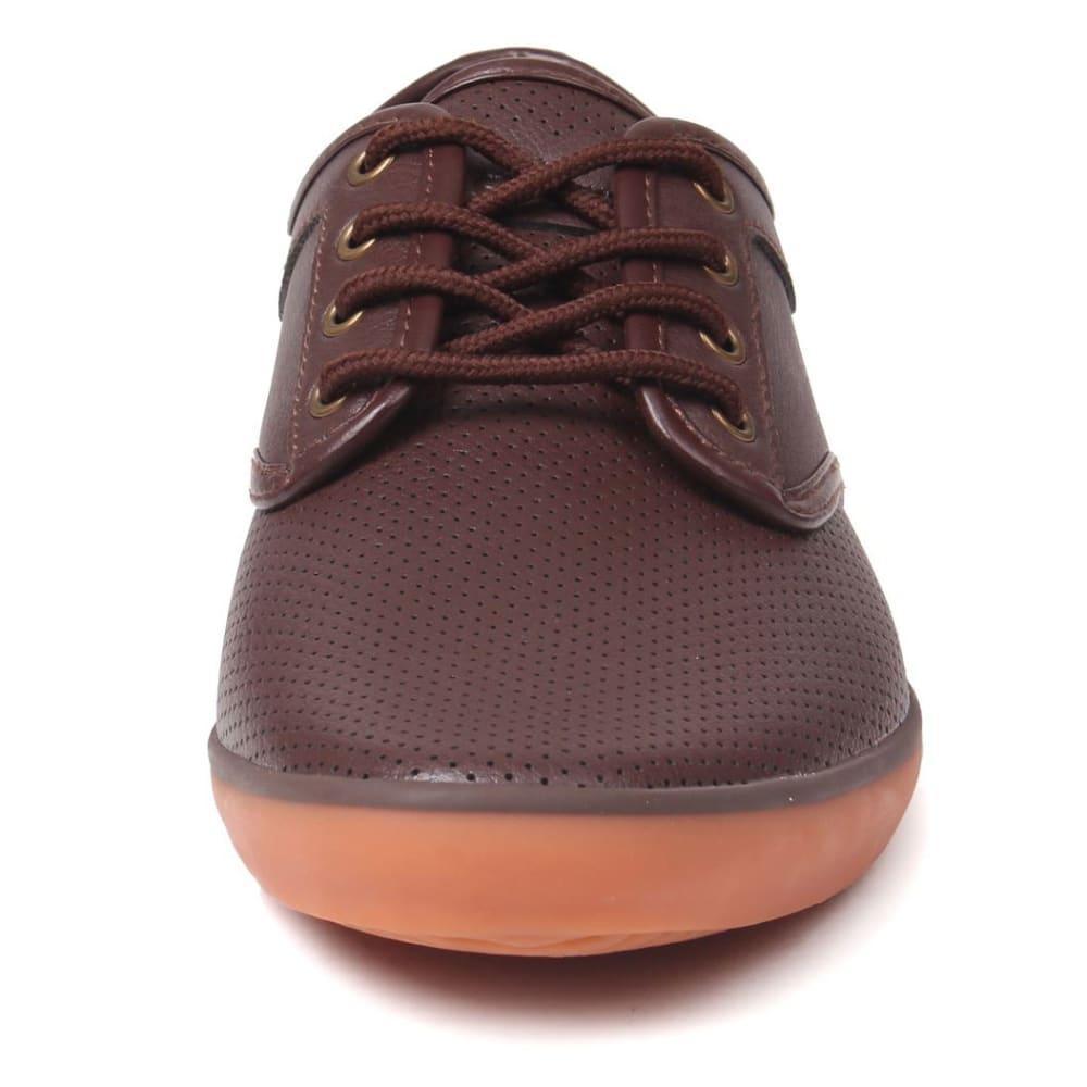 SOVIET Men's Bux Vamp Sneakers - BROWN/GUM
