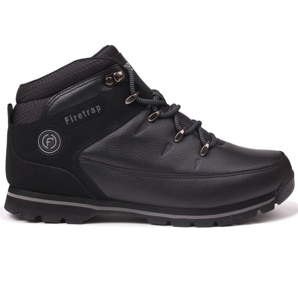 FIRETRAP Men's Rhino Low Boots - BLACK/BLACK