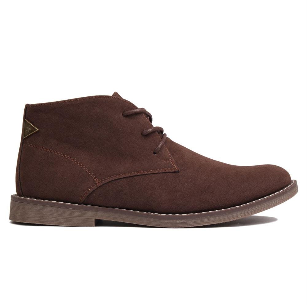 SOVIET Men's Desert Boots - BROWN