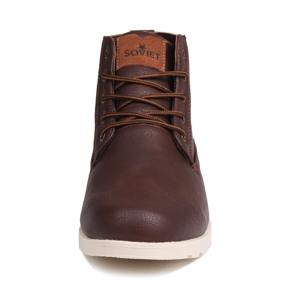 SOVIET Men's Remix Boots - BROWN