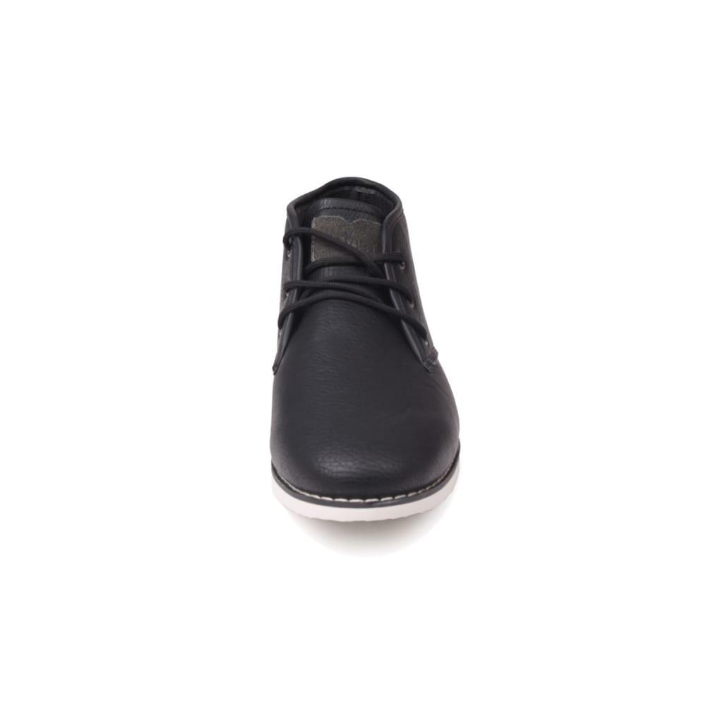 SOVIET Men's White Chapel Mid Boots - BLACK