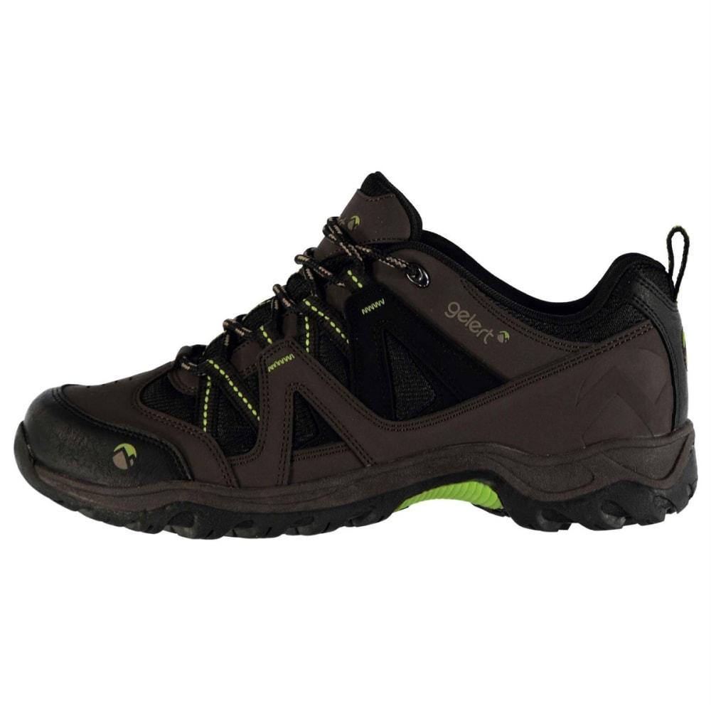 GELERT Men's Ottawa Low Hiking Shoes - BROWN