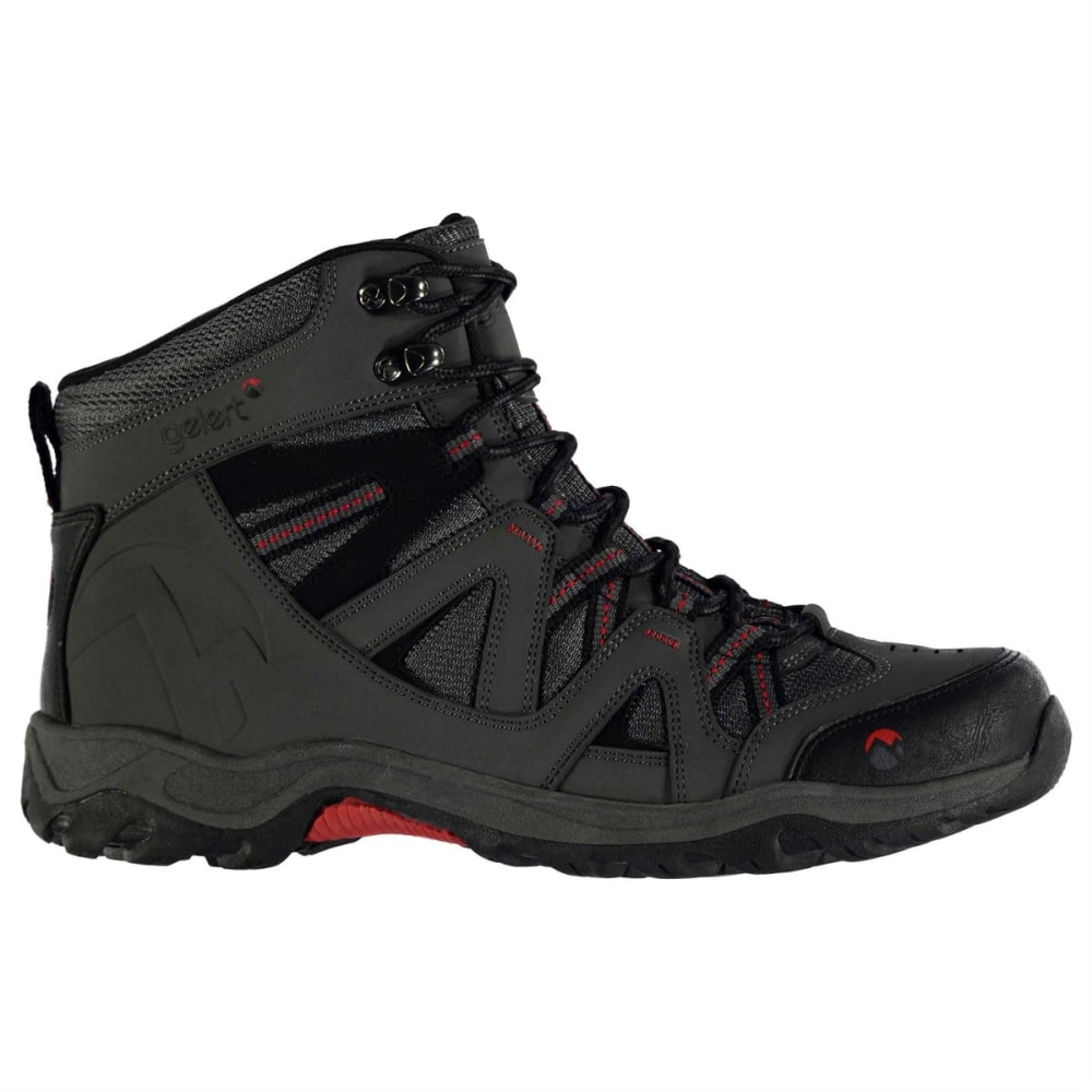 GELERT Men's Ottawa Mid Hiking Boots - CHARCOAL