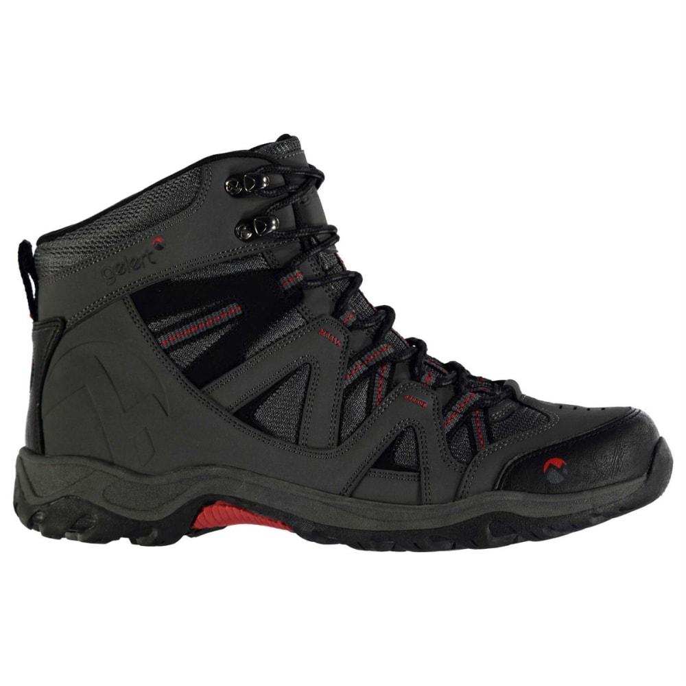 GELERT Men's Ottawa Mid Hiking Boots - CHARCOAL