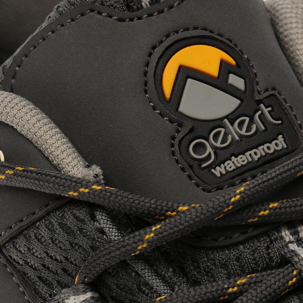 GELERT Men's Rocky Waterproof Low Hiking Shoes, Black - CHARCOAL
