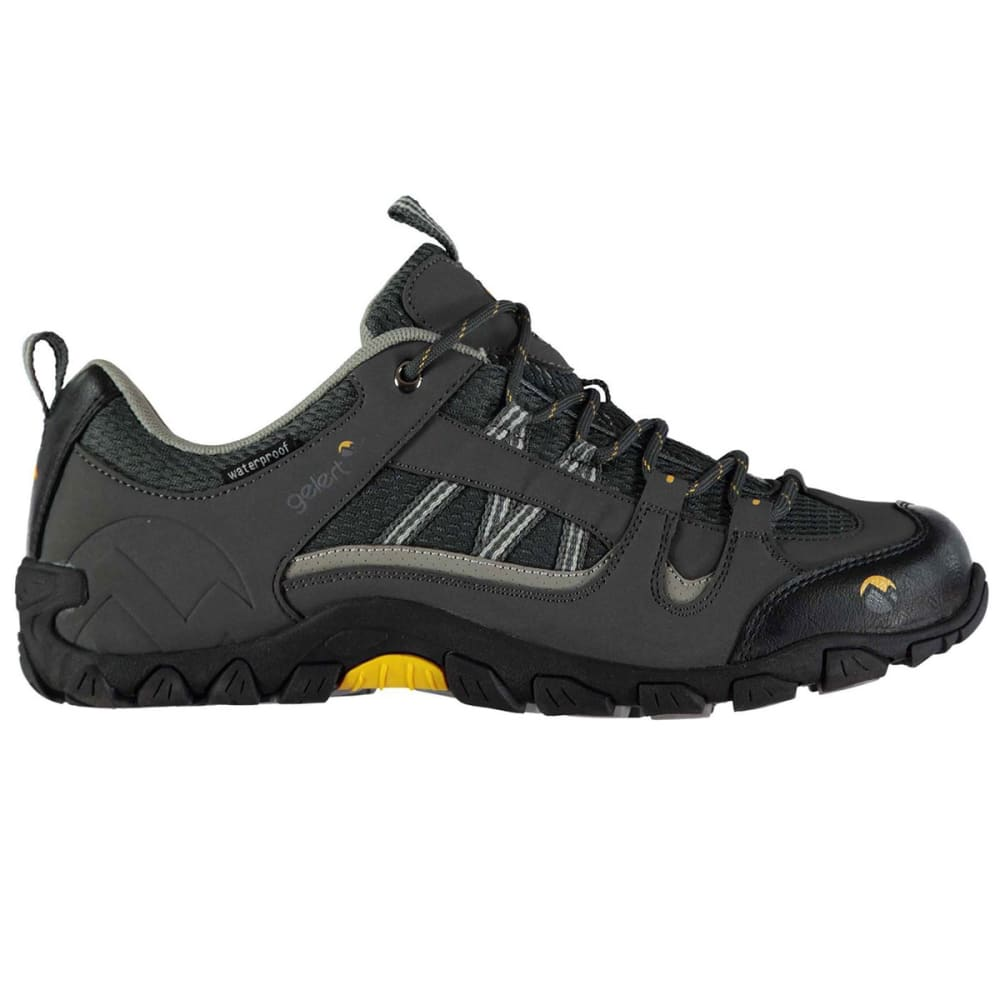 GELERT Men's Rocky Waterproof Low Hiking Shoes, Black - CHARCOAL