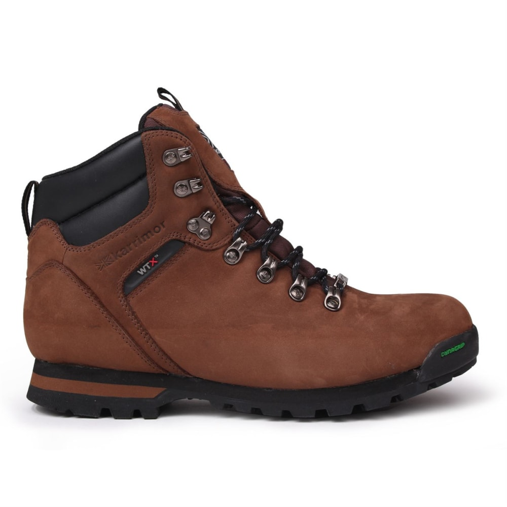 KARRIMOR Men's KSB Kinder Low Waterproof Hiking Boots - BROWN
