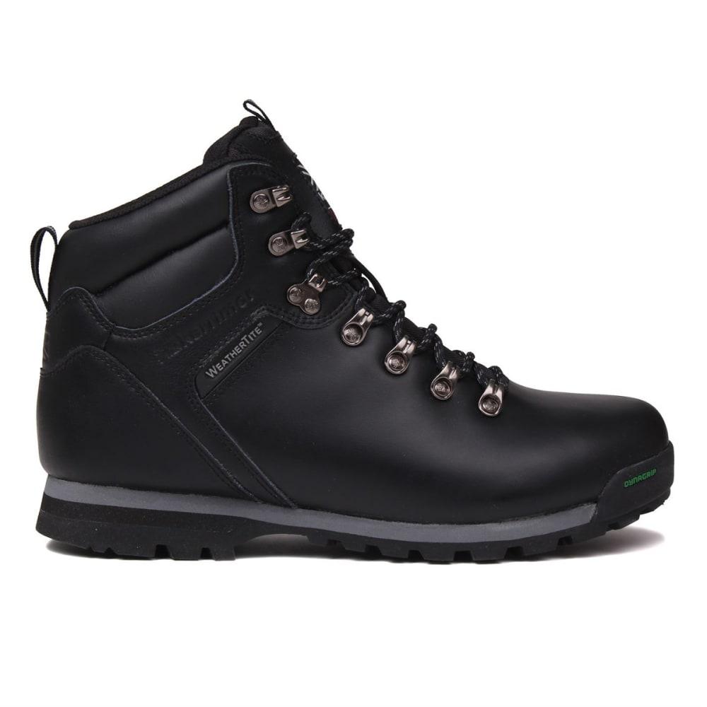 KARRIMOR Men's Munro Low Waterproof Hiking Boots - BLACK
