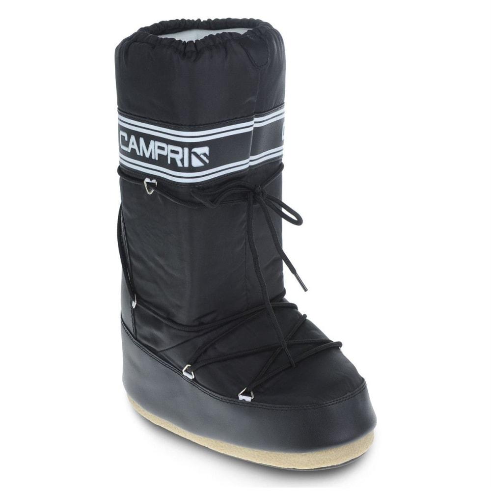 CAMPRI Men's Snow Jogger Winter Boots - BLACK