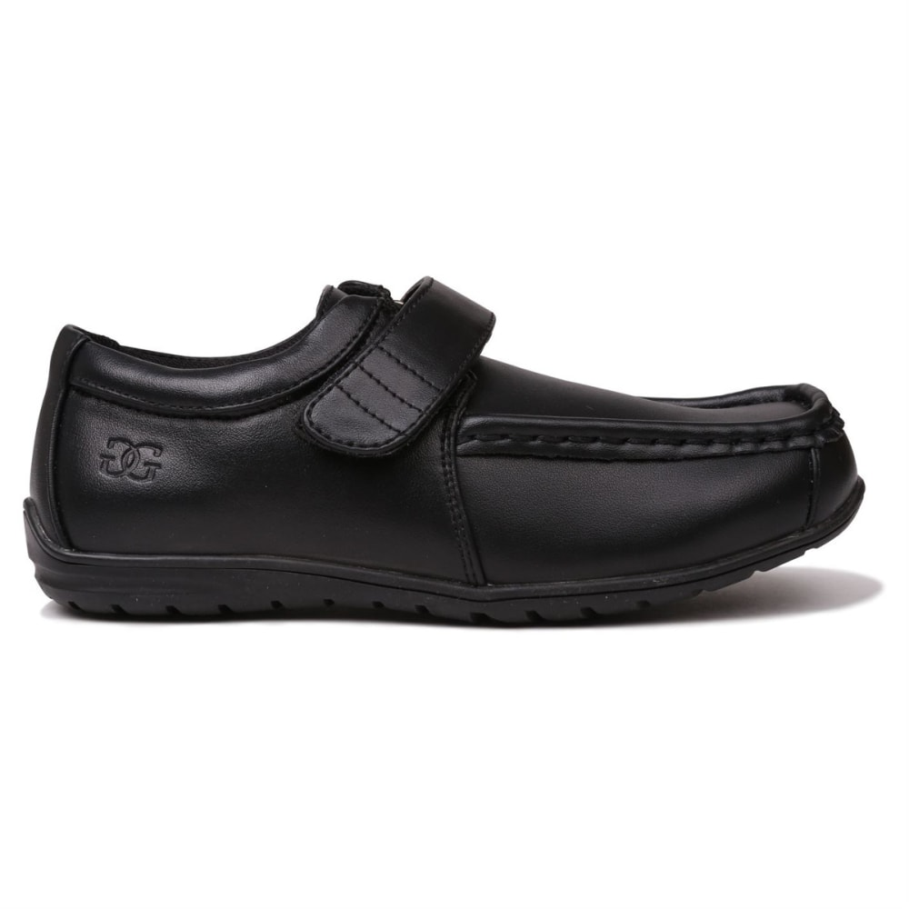 Giorgio Boys' Bexley Velcro Casual Shoes - Black, 4