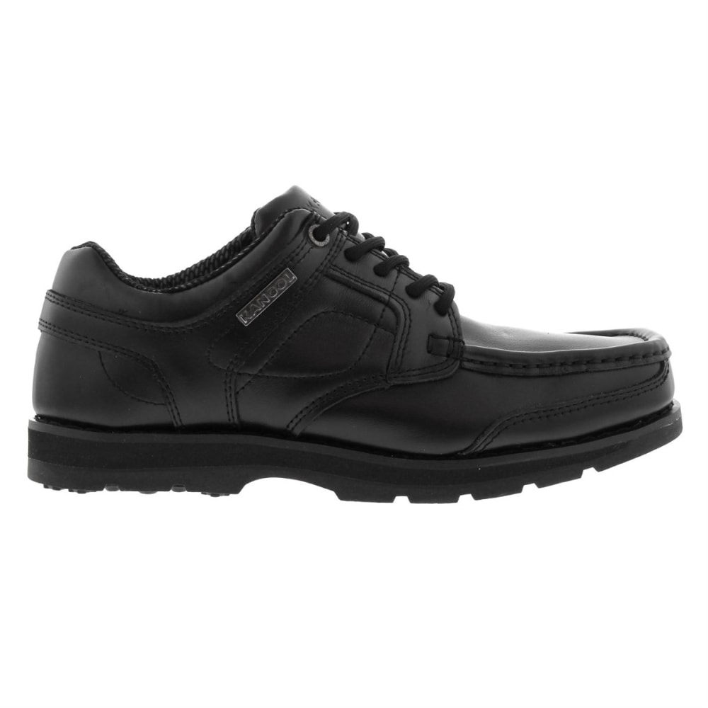 Kangol Kids' Harrow Lace-Up Casual Shoes - Black, 4