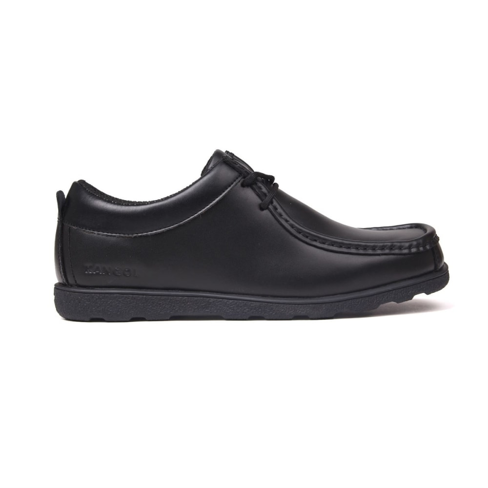 KANGOL Kids' Waltham Lace-Up Casual Shoes - BLACK