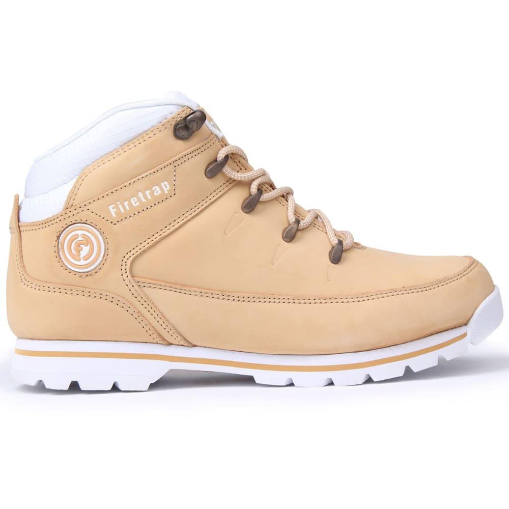 FIRETRAP Women's Rhino Ankle Boots, Honey/White - Honey/White