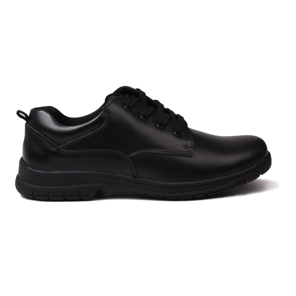 KANGOL Boys' Churston Lace-Up Casual Shoes - BLACK