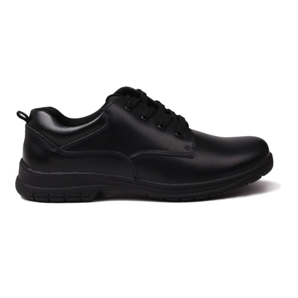 Kangol Boys' Churston Lace-Up Casual Shoes - Black, 4