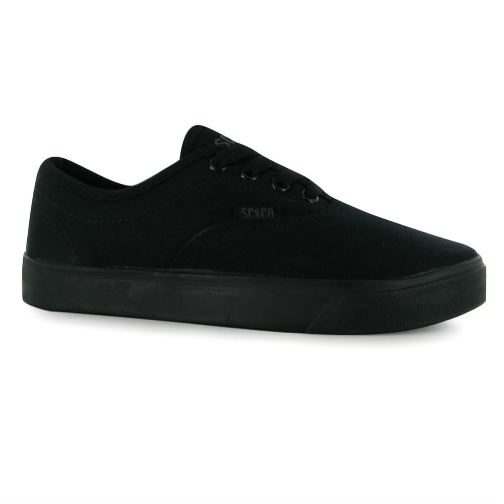 Soulcal Kids' Sunset Canvas Casual Shoes - Black, 4