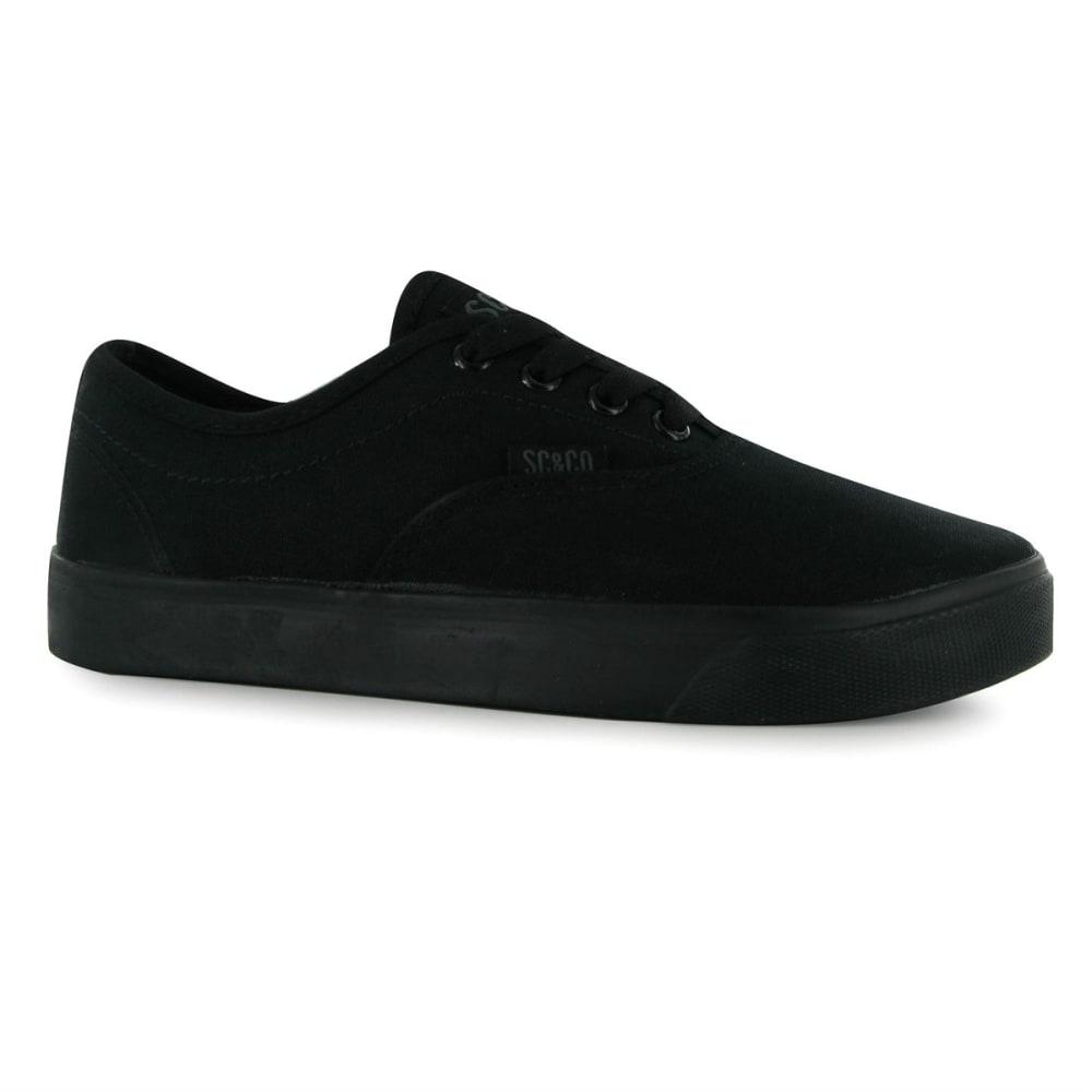 SOULCAL Kids' Sunset Canvas Casual Shoes - BLACK/BLACK