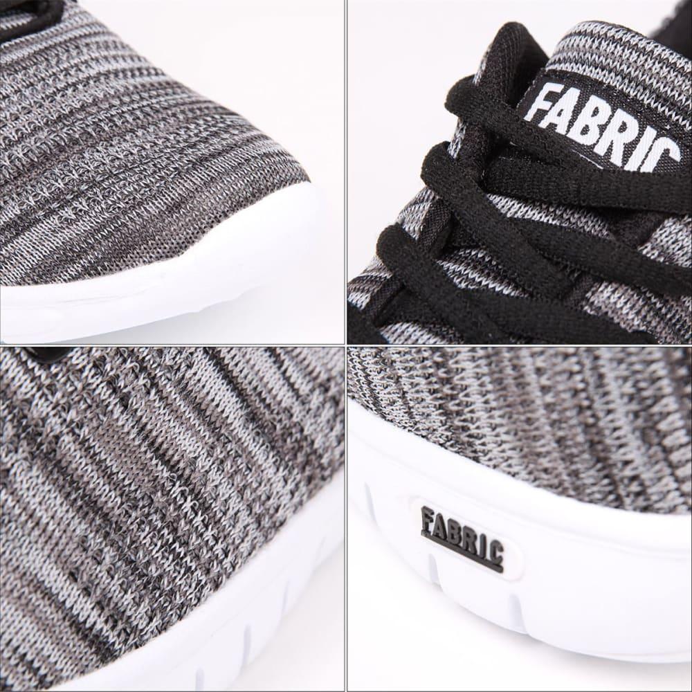 FABRIC Kids' Flyer Runner Sneakers - BLACK/WHITE