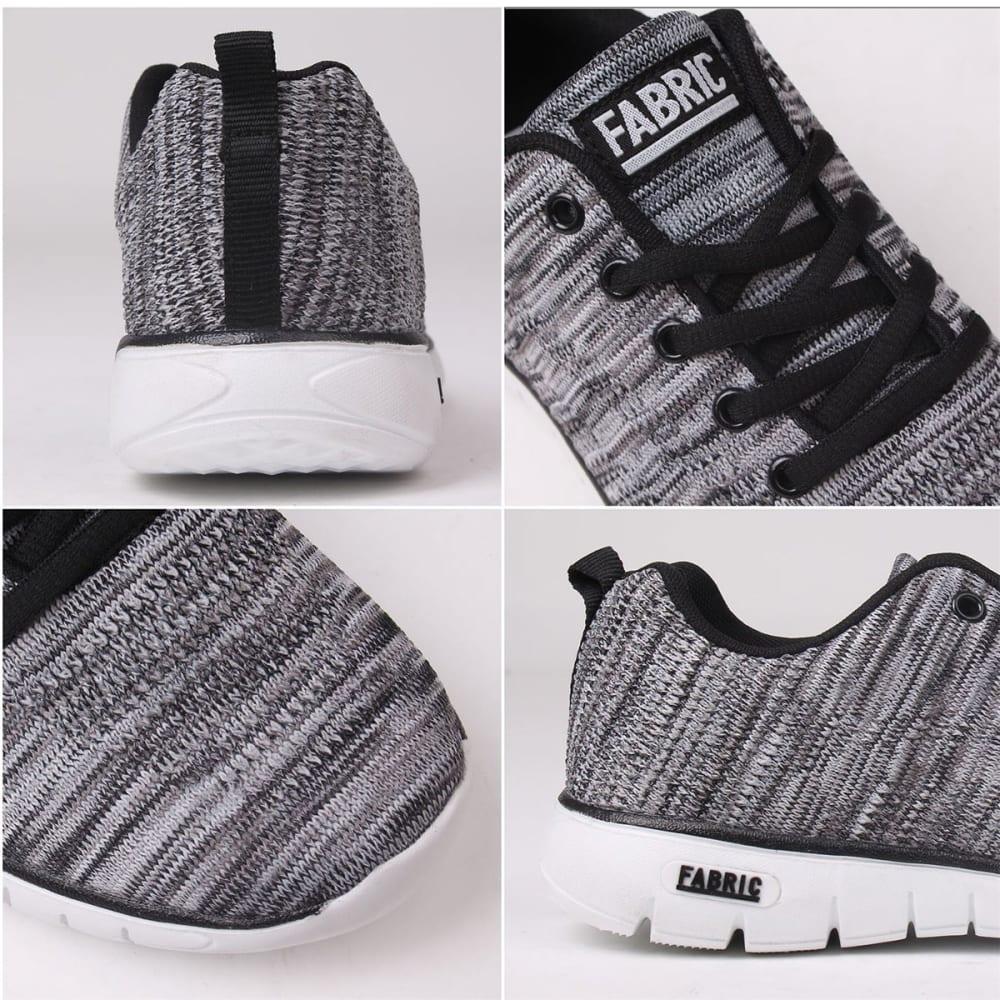 FABRIC Women's Flyer Runner Sneakers - BLACK