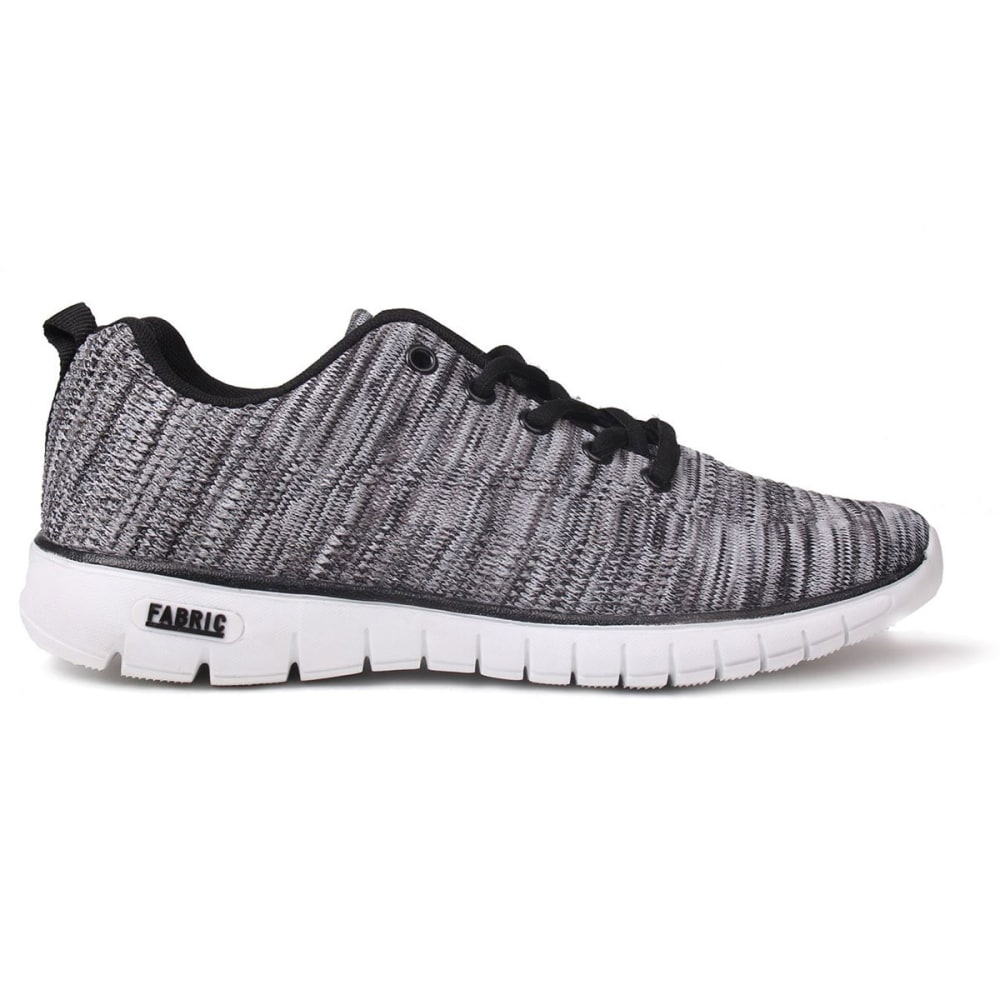 FABRIC Women's Flyer Runner Sneakers - BLACK