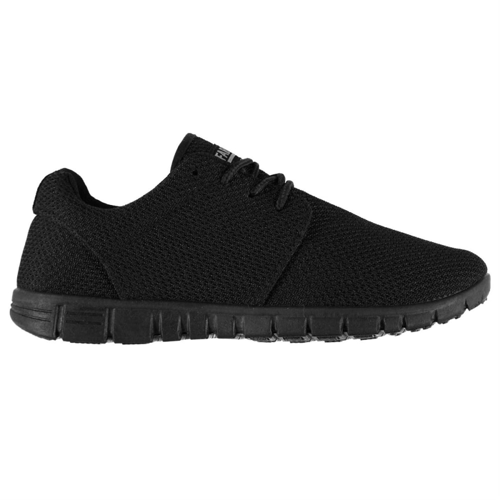FABRIC Kids' Mercy Running Shoes - BLACK/BLACK