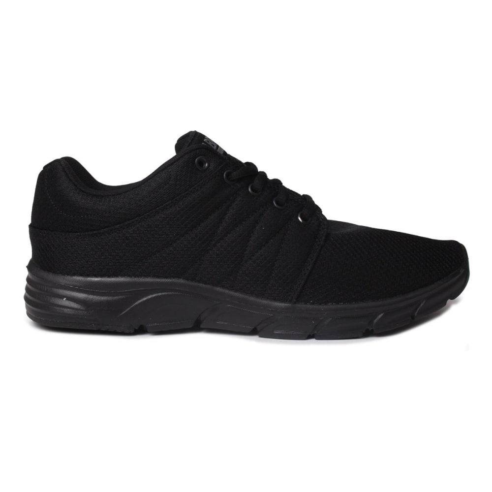 FABRIC Kids' Reup Running Shoes - BLACK/BLACK