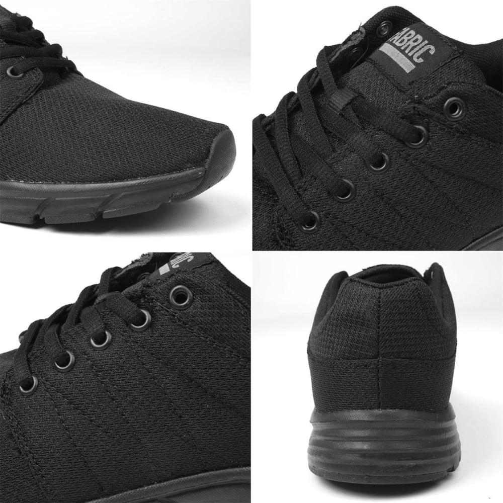 FABRIC Women's Reup Runner Sneakers - BLACK/BLACK