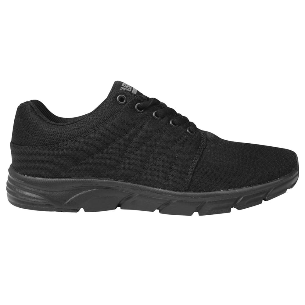FABRIC Women's Reup Runner Sneakers - BLACK/BLACK