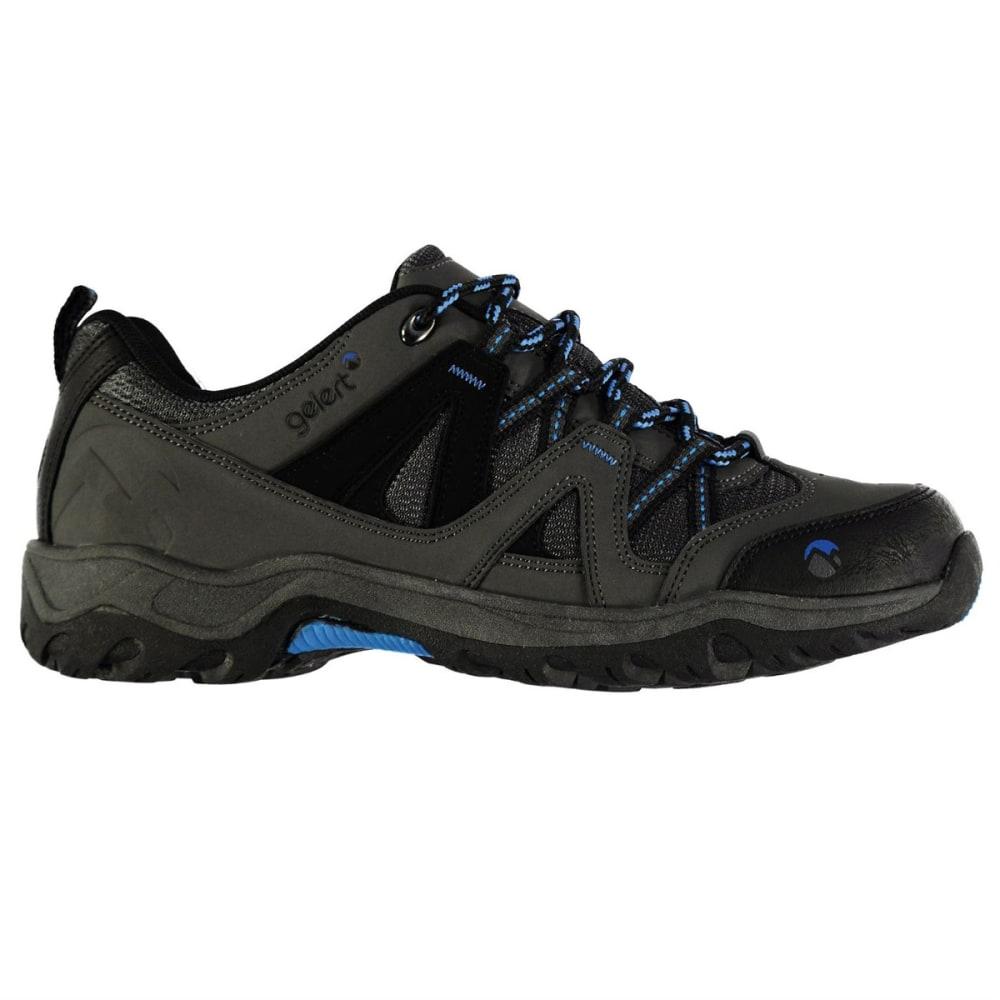 GELERT Kids' Ottawa Low Hiking Shoes - CHARCOAL/BLUE