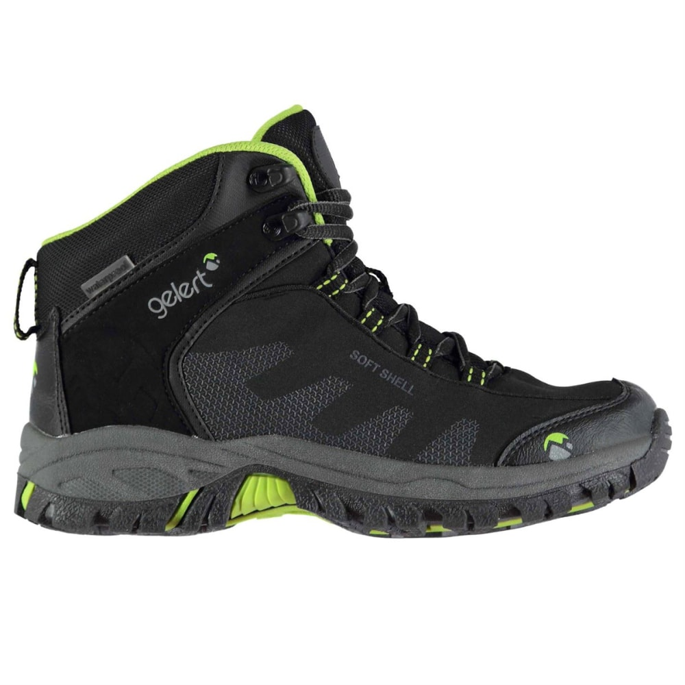 GELERT Kids' Softshell Mid Waterproof Hiking Boots 4