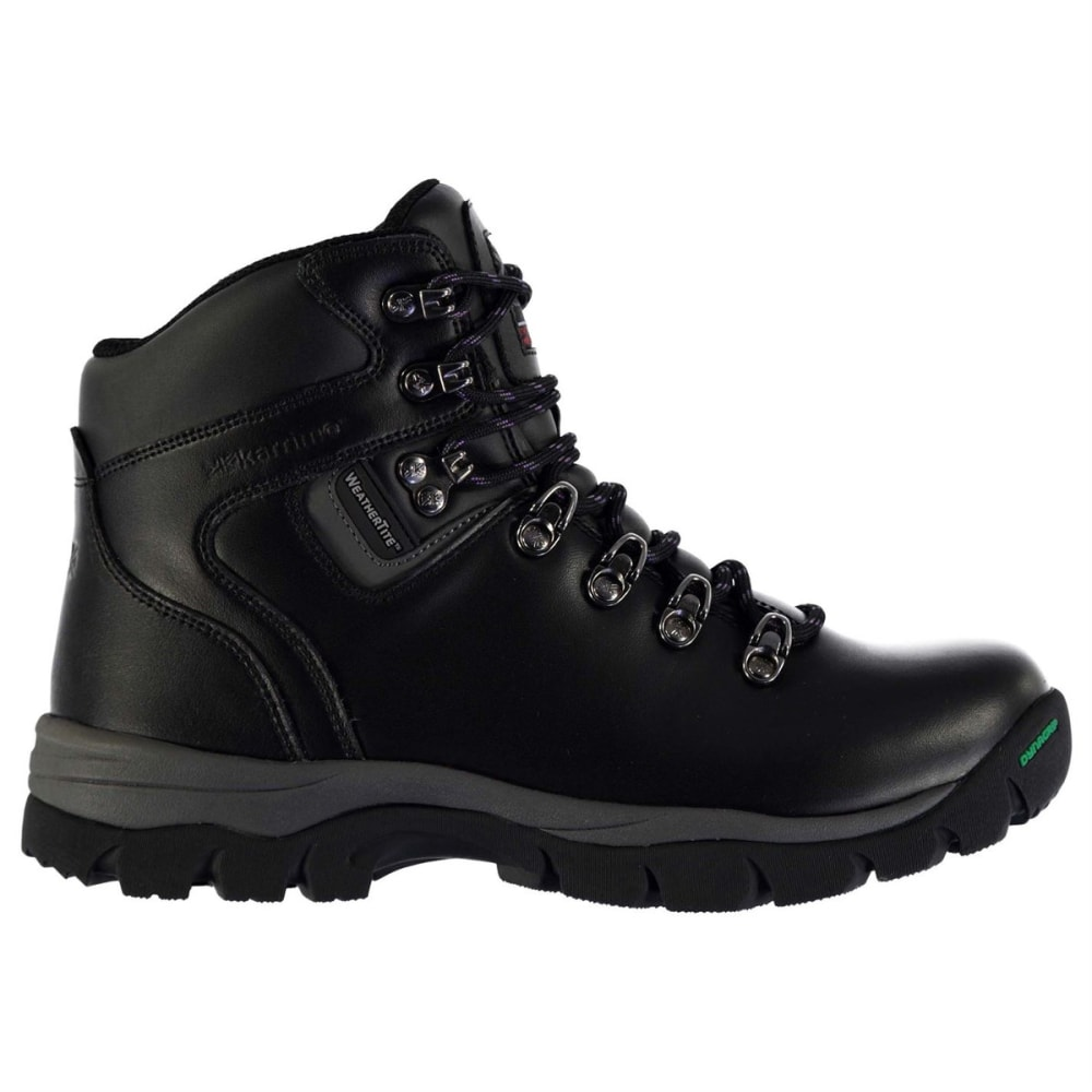 KARRIMOR Women's Skiddaw Mid Waterproof Hiking Boots - BLACK