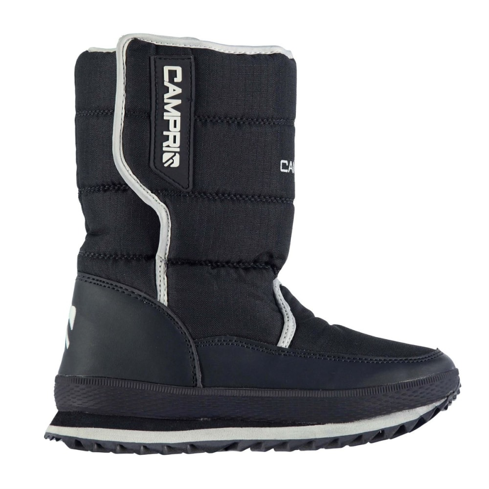 CAMPRI Kids' Snow Jogger Winter Boots - NAVY