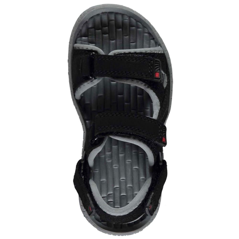 KARRIMOR Boys' Antibes Sandals - BLACK/CHARCOAL