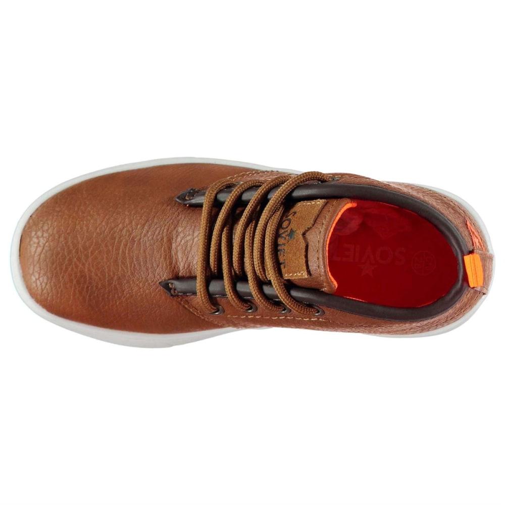 SOVIET Kids' Whitehall Mid Chukka Boots - TAN