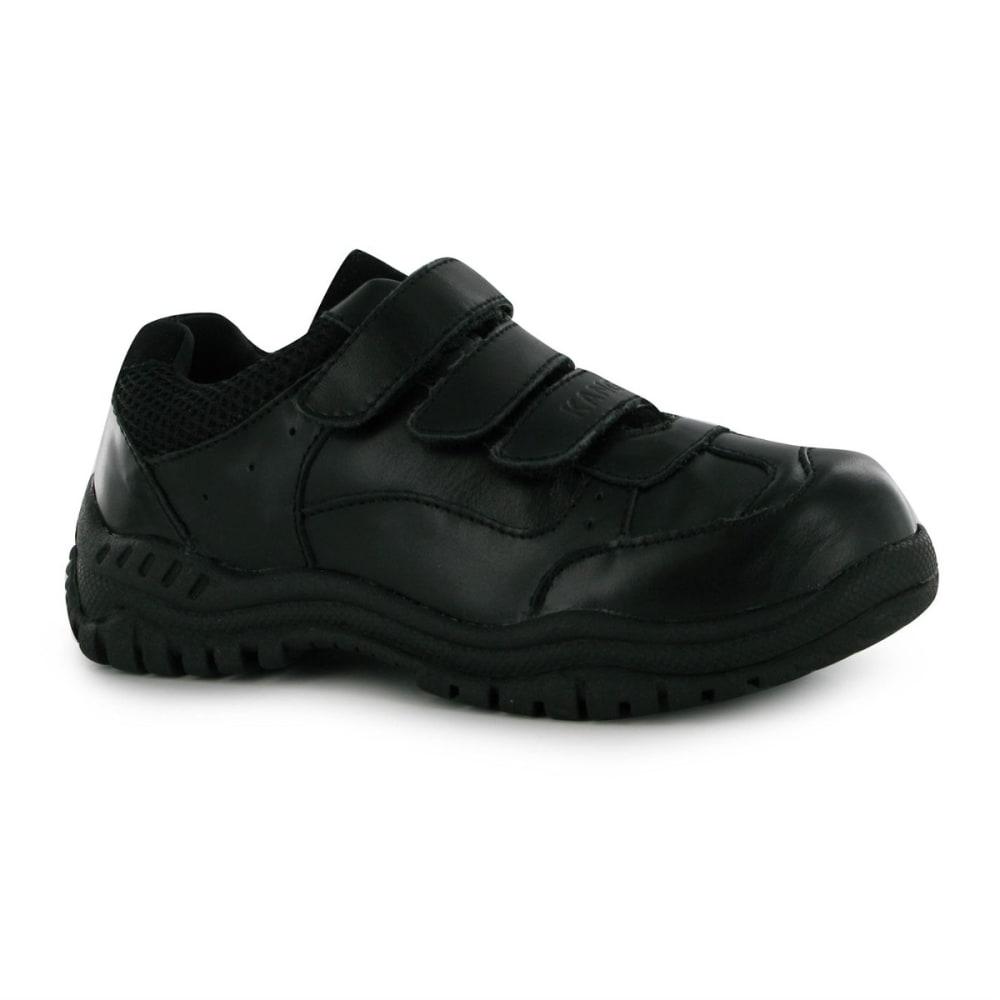 KANGOL Kids' Borden Velcro Casual Shoes - BLACK