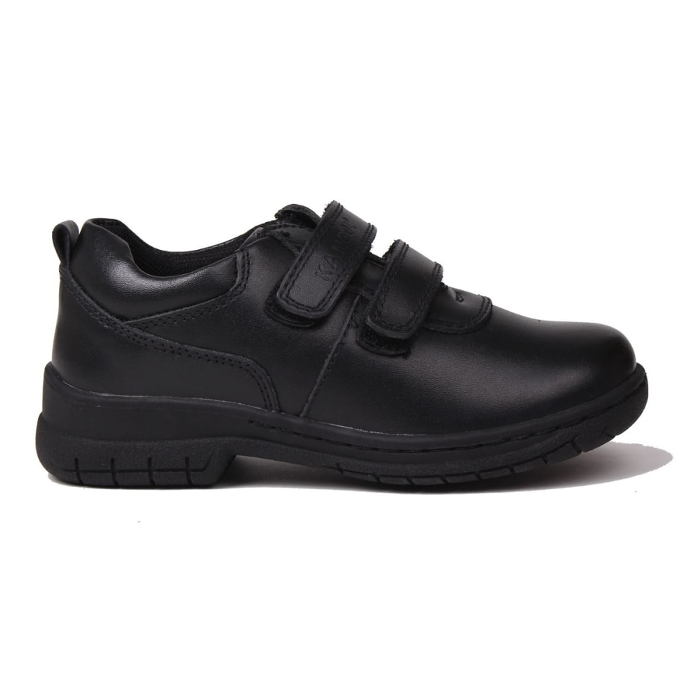 KANGOL Boys' Churston Velcro Casual Shoes - BLACK