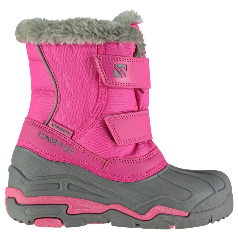 CAMPRI Kids' Waterproof Snow Boots - PINK