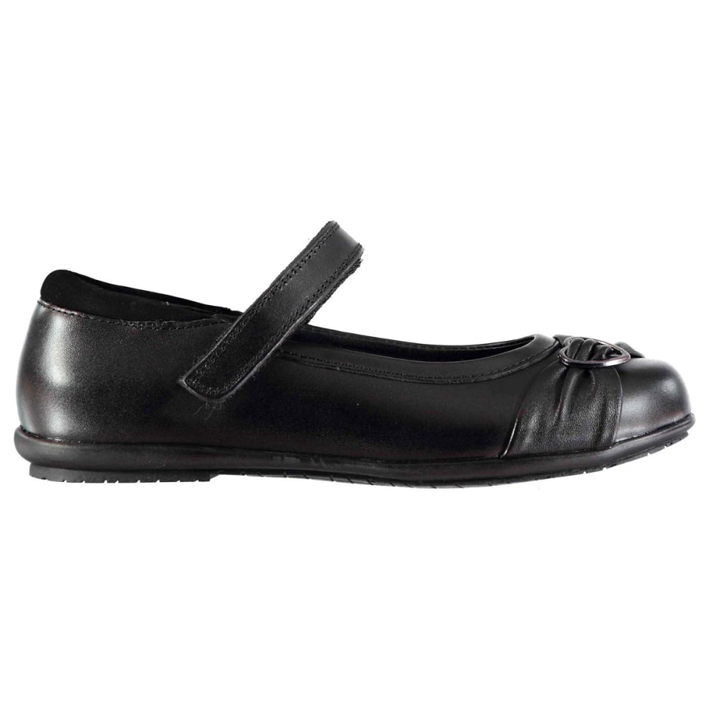 KANGOL Girls' Loreto Flats - BLACK
