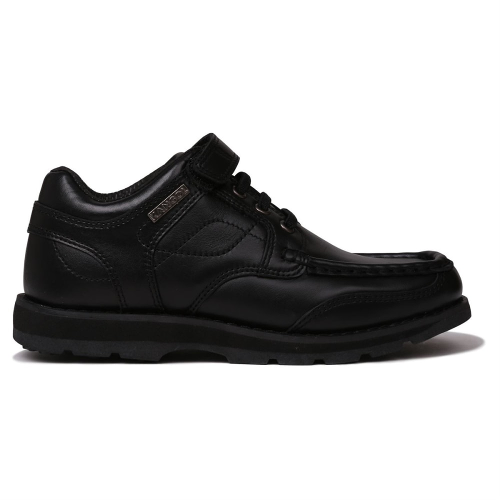 KANGOL Kids' Harrow Lace-Up Casual Shoes - BLACK