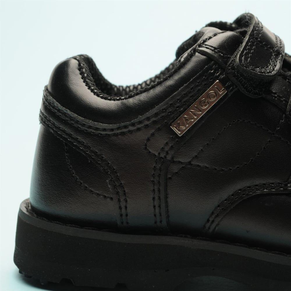KANGOL Kids' Harrow Velcro Casual Shoes - BLACK