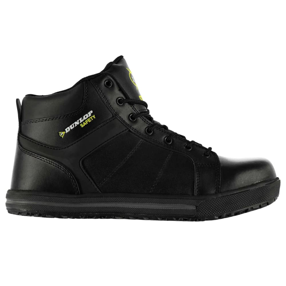 Dunlop Men's California Steel Toe Work Shoes - Black, 10