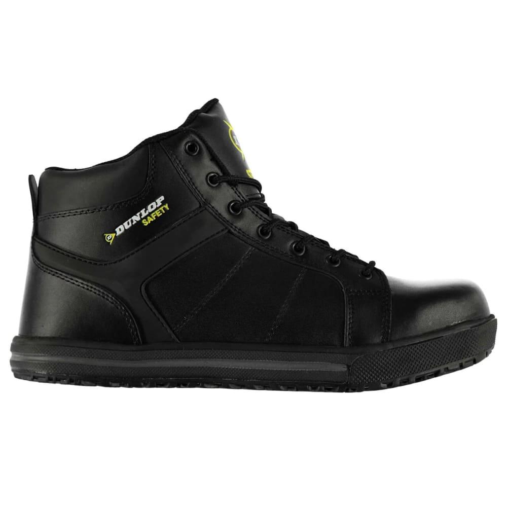 DUNLOP Men's California Steel Toe Work Shoes - BLACK