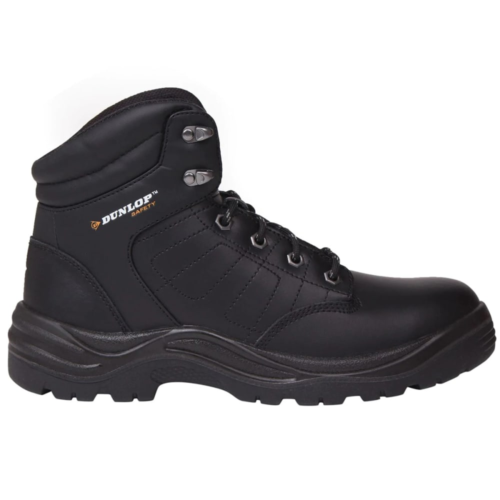 Dunlop Men's Dakota Steel Toe Work Boots - Black, 10