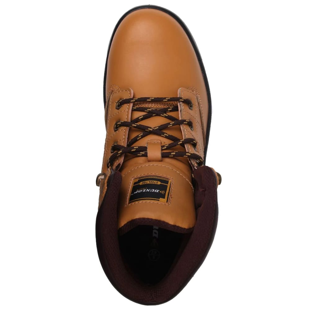 DUNLOP Men's Dakota Steel Toe Work Boots - HONEY