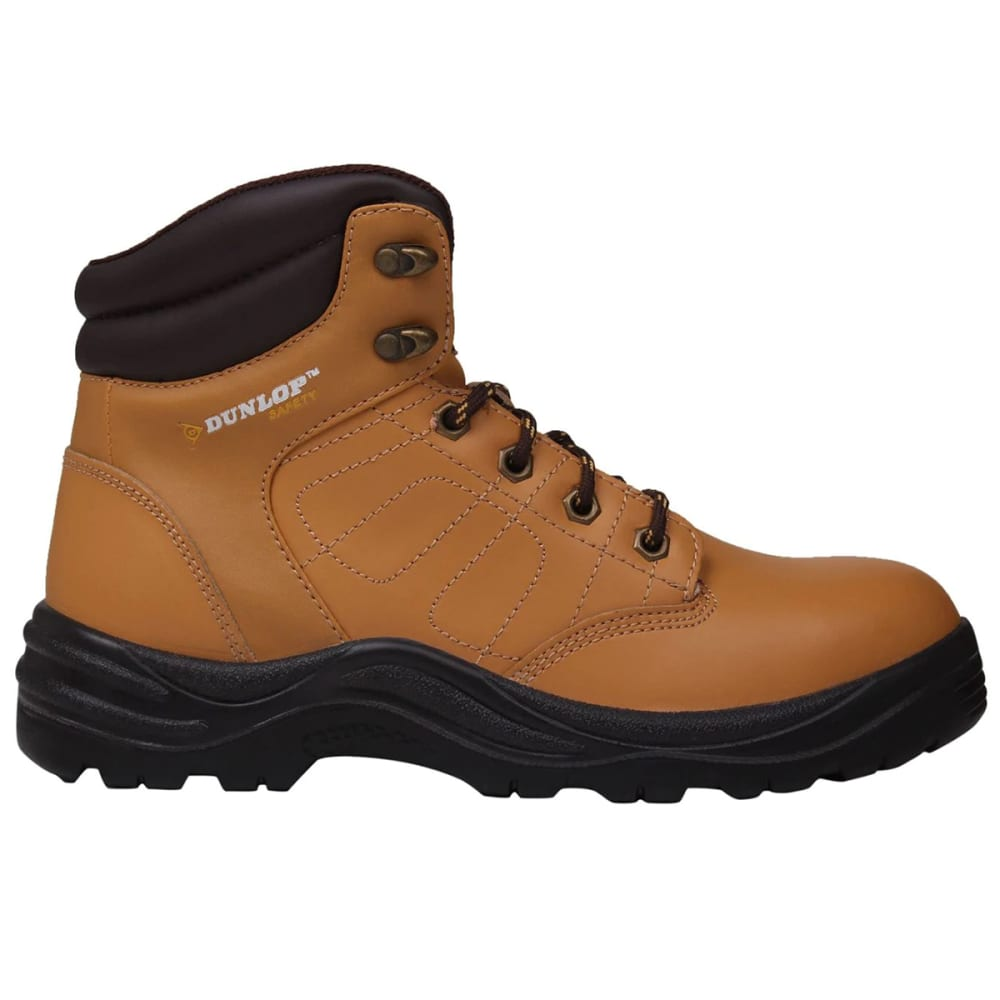 DUNLOP Men's Dakota Steel Toe Work Boots - HONEY